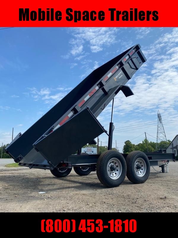 81x14 14 k Hydraulic  dump bed equipment trailer