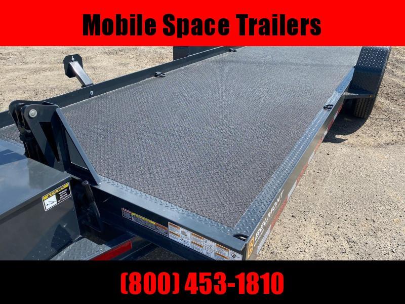 Belmont Trailers 80x20 10k Hydraulic tilt deck Equipment Trailer