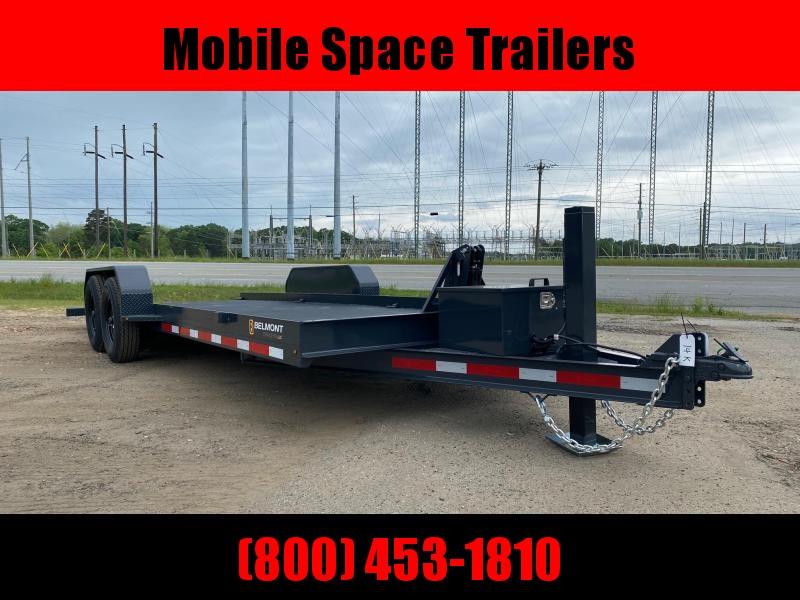 Belmont Trailers equipment 80x20 14k Hydraulic tilt deck Equipment Trailer