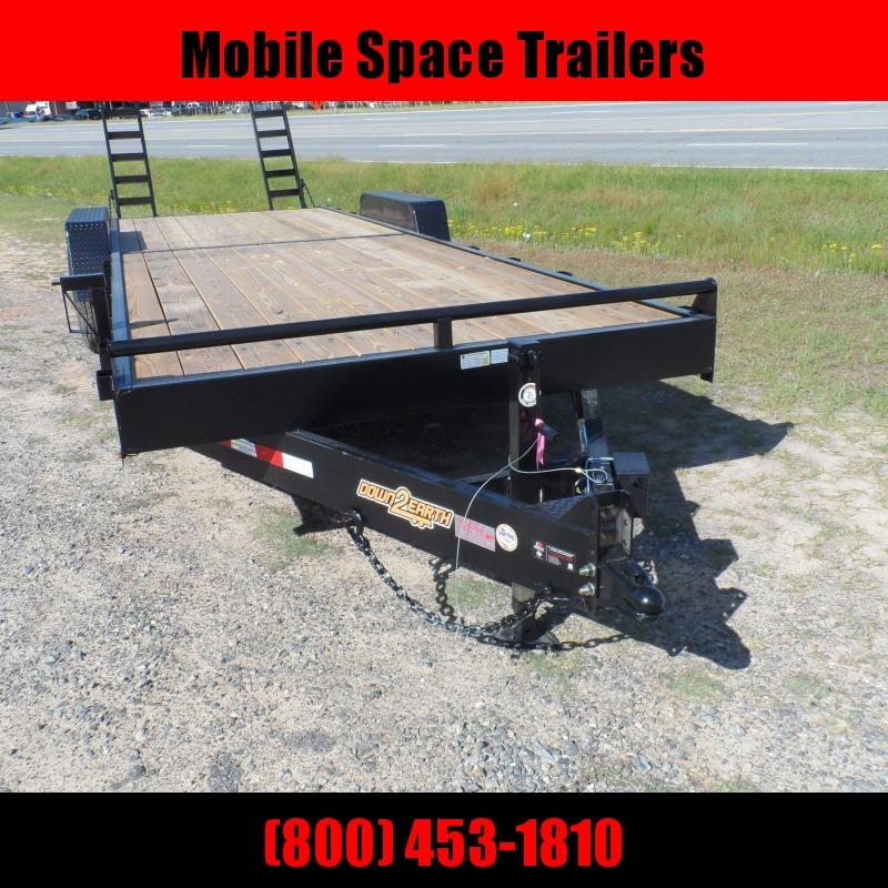 Down 2 Earth Trailers 82x24 14k Equipment Trailer