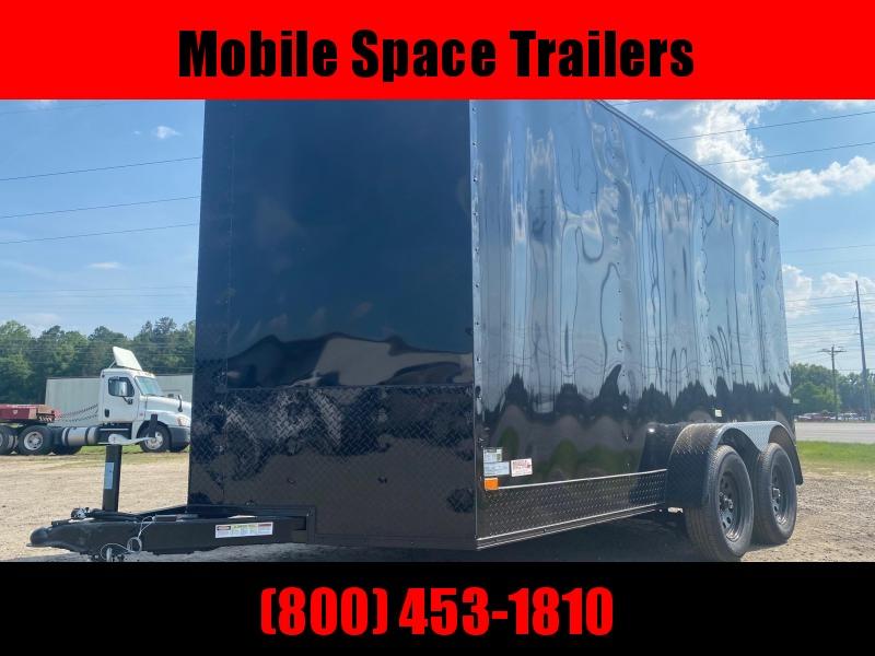 7X14 7k Blackout Tandem Ramp Door Enclosed Cargo Trailer