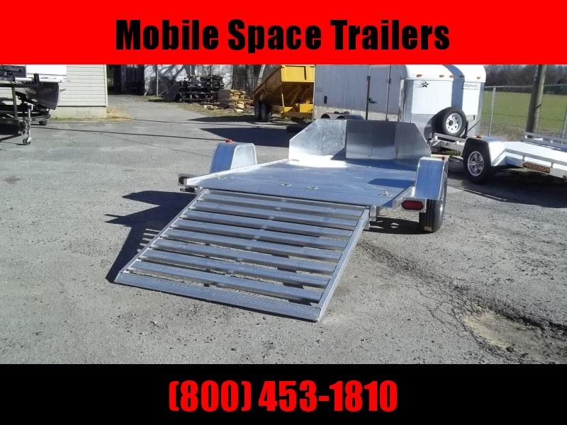 2021 Aluma double motorcycle trailer MC210