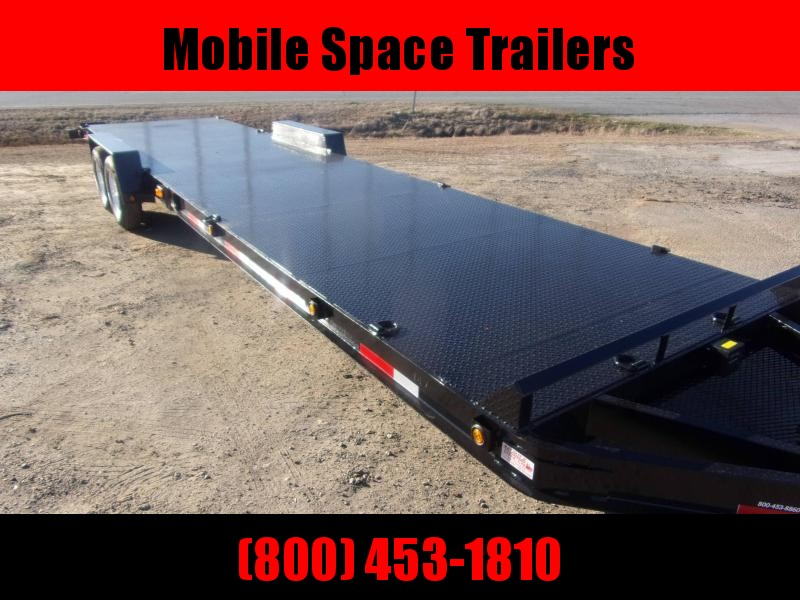 "Superior Trailers 34 2 Car Hauler 8"" channel frame Steel Deck utv"