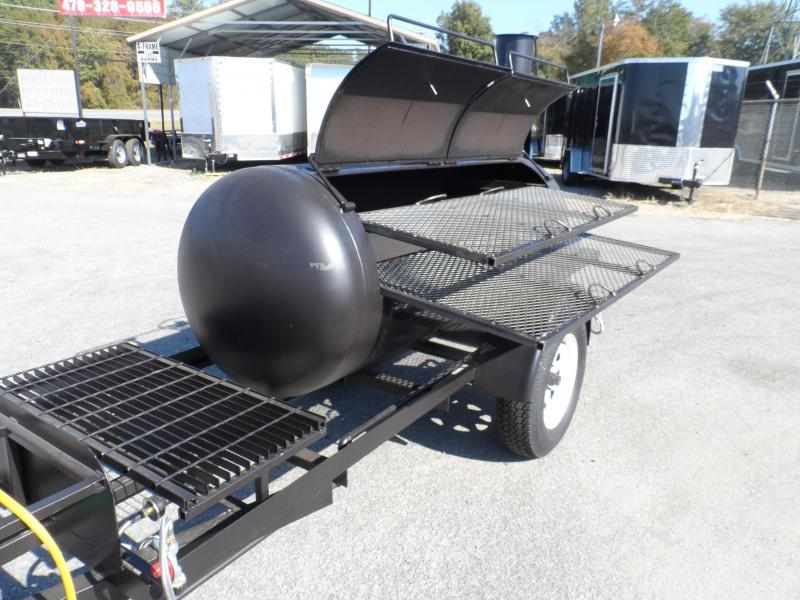 2019 Bubba Grill Smoker 250R310 Reverse Flow Vending / Concession Trailer