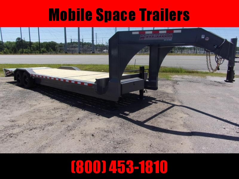 "Midsota STWB-26GN 102""X26' Goose neck Equipment Trailer"
