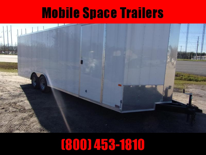 "Car Hauler Trailer 8.5"" X32  7k Axle Enclosed Cargo Trailer"