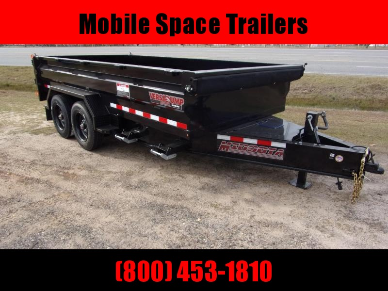 Midsota HVHD-14 Dump Trailer 17600 GVWR with hd ramp
