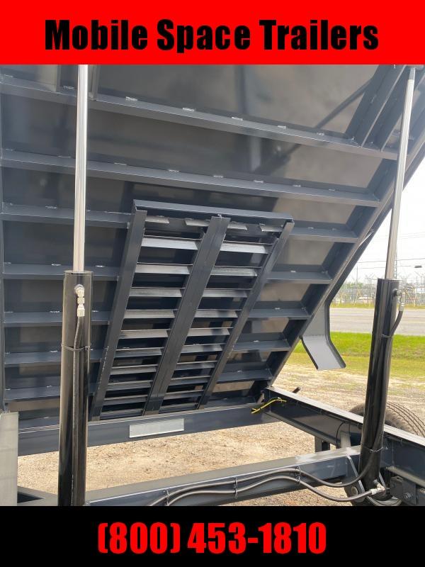 81x14 14 k Hydraulic Jack dump bed equipment trailer