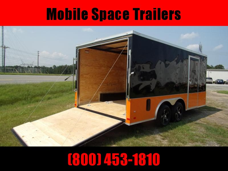Covered Wagon Trailers 8.5x16 MCP Bk and Or ramp door Enclosed Cargo Trailer