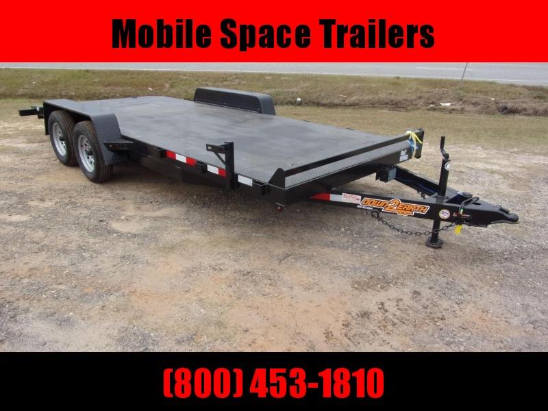 Down 2 Earth Trailers 18' Car Hauler steel Deck