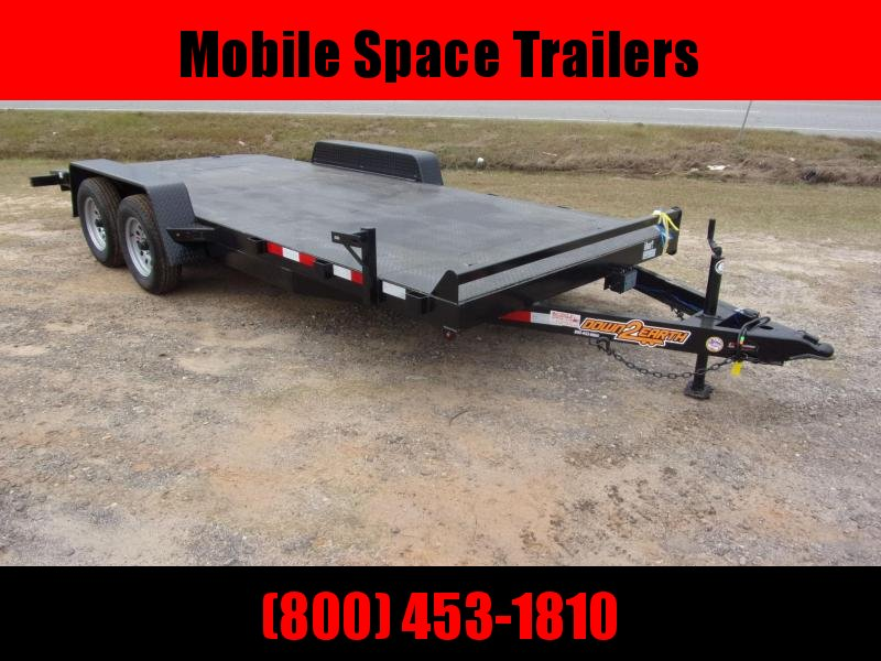 Down 2 Earth Trailers 18' Car Hauler steel Deck