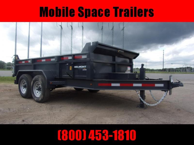 Belmont Trailers equipment 81x12 12 k Hydraulic tilt dump bed
