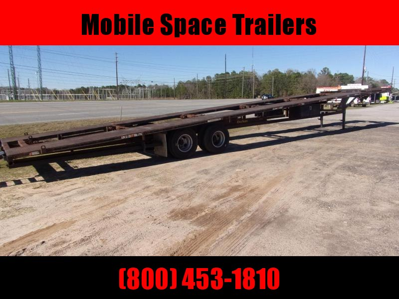 2001 Kaufman Trailers Gooseneck 3 car ahuler Car / Racing Trailer