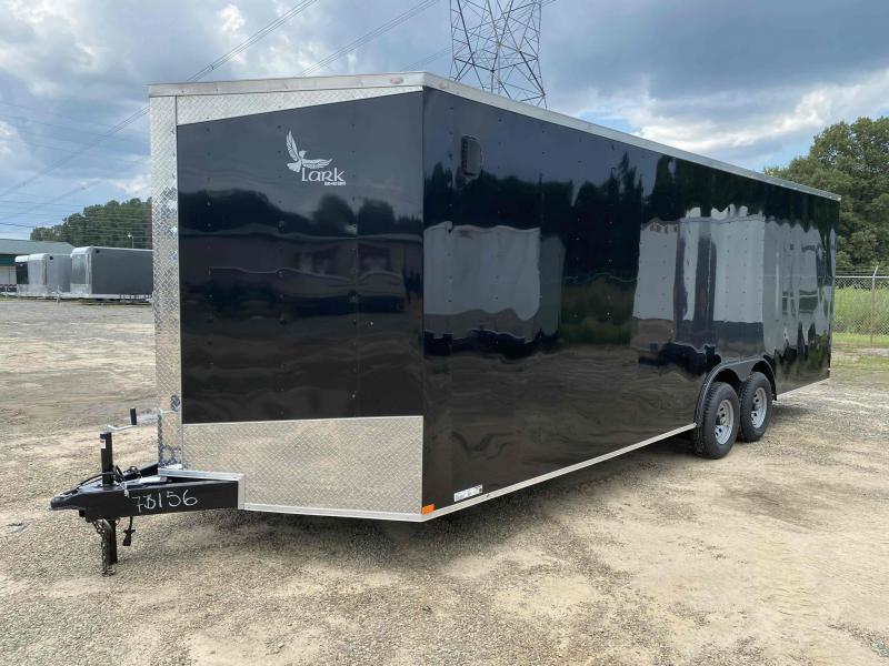 2020 Lark 8.5X24 Charcoal Carhauler Enclosed Cargo Trailer