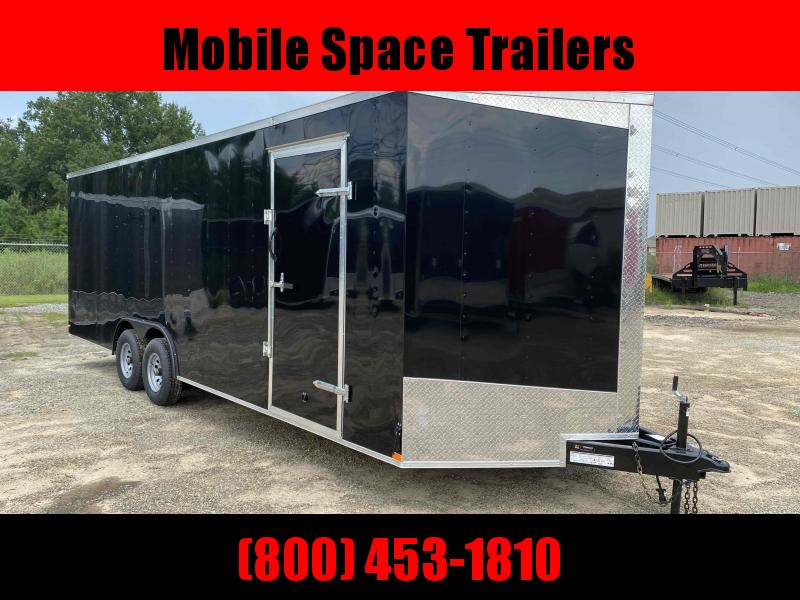 Lark 8.5X24 Charcoal Carhauler Enclosed Cargo Trailer