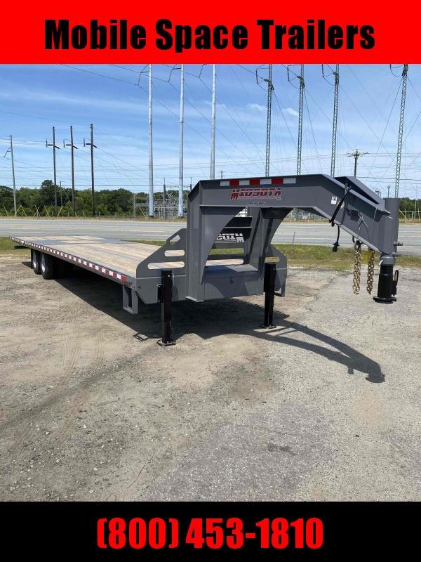 2021 Midsota 102 X 36 Gooseneck Equipment Trailer