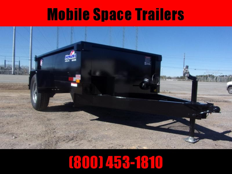 2021 Hawke Trailers 5X8 10K Low Pro Dump Trailer