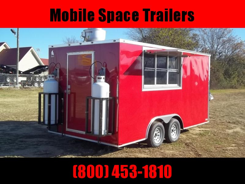 2021Spartan Cargo 8X16 TK concession Vending / Concession Trailer