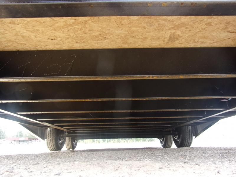Covered Wagon Trailer 8.5X20 Silver Spread Axle Car Hauler