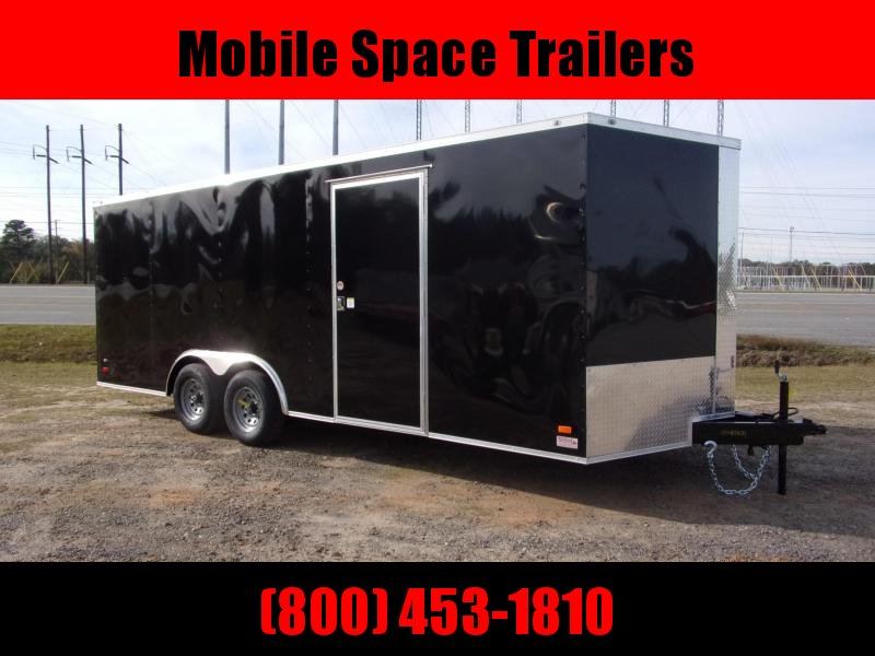 8.5X20 Black Ramp Door 10k Car Hauler