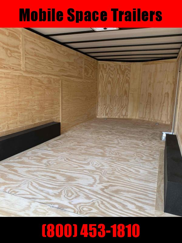 2021 Covered Wagon 8.5x20 black ramp door 10k car hauler