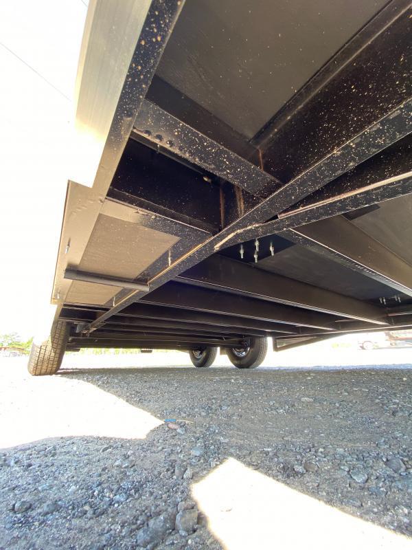 2020 Covered Wagon Trailer 8.5X20 Black Spread Axle Car Hauler