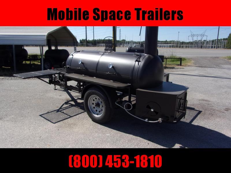 Bubba Grills Shelf 250R510 Reverse Flow Smoker Vending / Concession Trailer