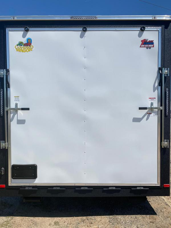 2021 Covered Wagon Trailers 8.5X24 8' Interior Electric Package w/ A/C Vending / Concession Trailer