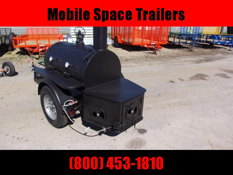 Bubba Grill Smoker 175R38 Reverse Flow Vending / Concession Trailer