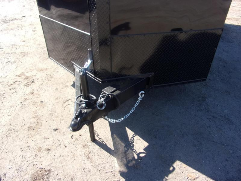 Trailer 7x16 6 3 bk bkout W Ramp Door Enclosed Cargo screwlessTrailer