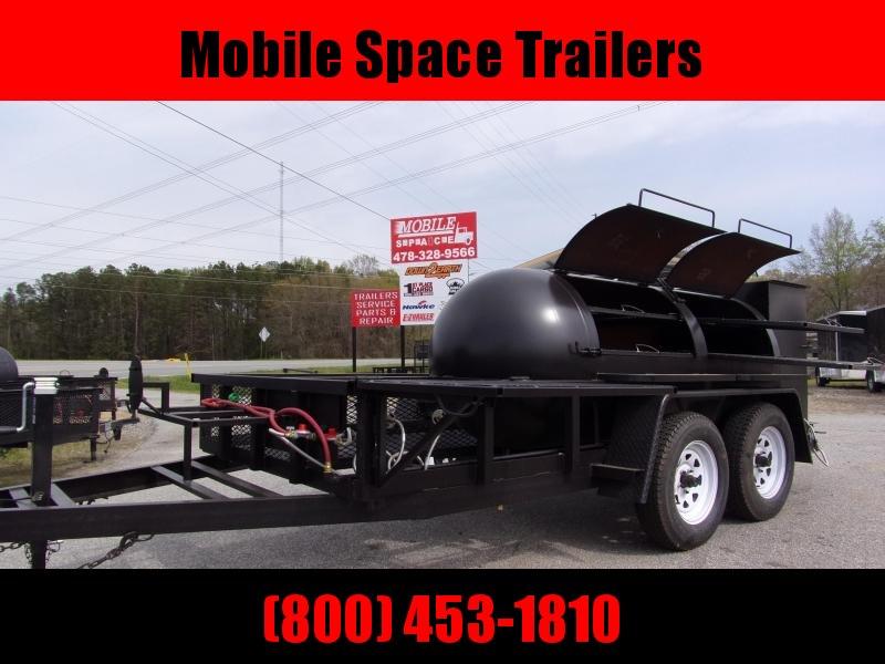 2020 Bubba Grills  500R612 TA Reverse Flow Smoker Vending / Concession Trailer