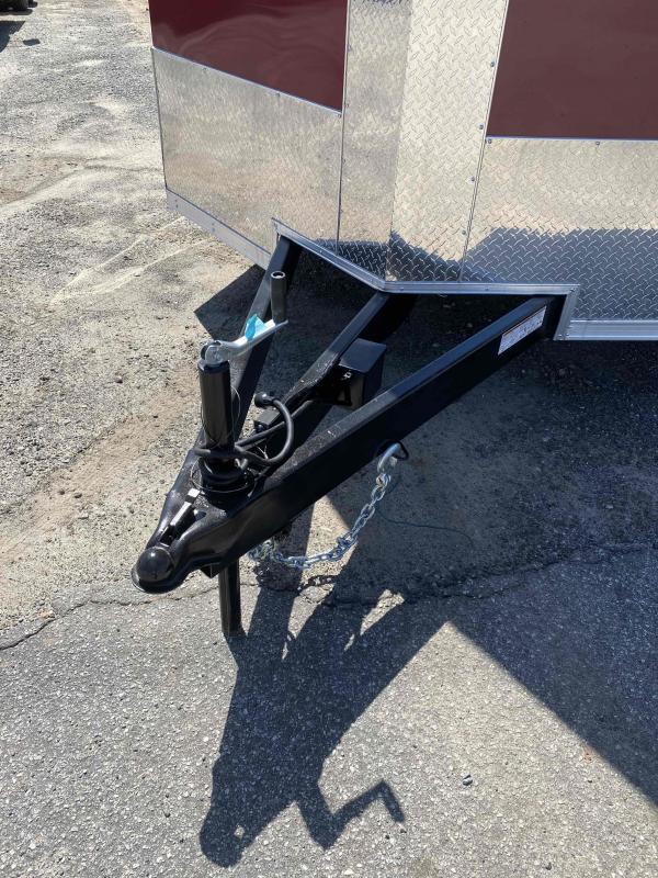 "2020 Covered Wagon Trailers 8.5X22 14K Black & Brandy 7' 6"" Interior Enclosed Cargo Trailer"