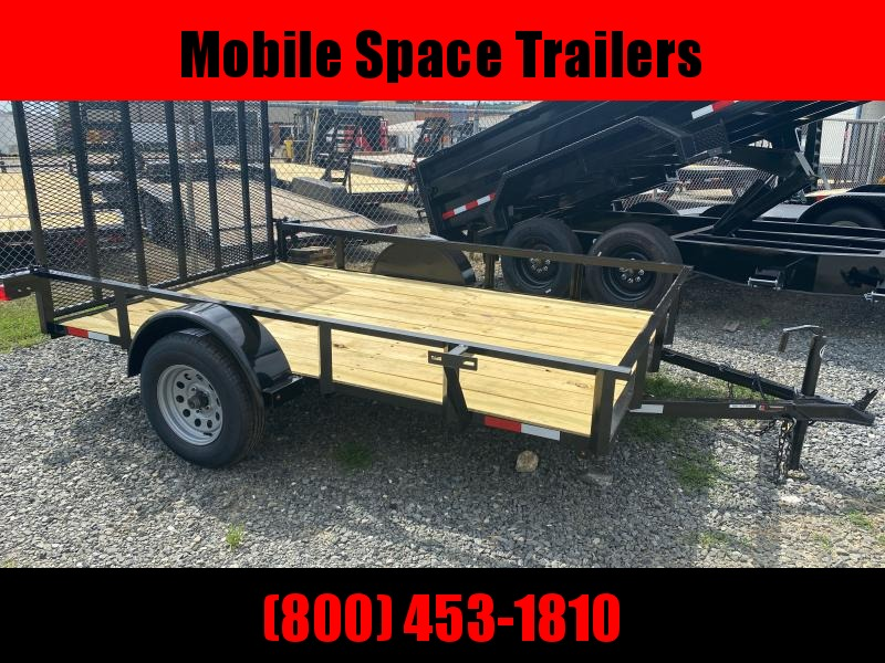 Down 2 Earth Trailers 76x10ut Utility Trailer
