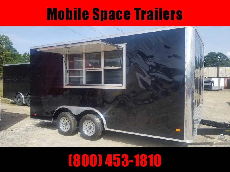 2020 Covered Wagon Trailers 8.5x16 Concession Vending / Concession Trailer