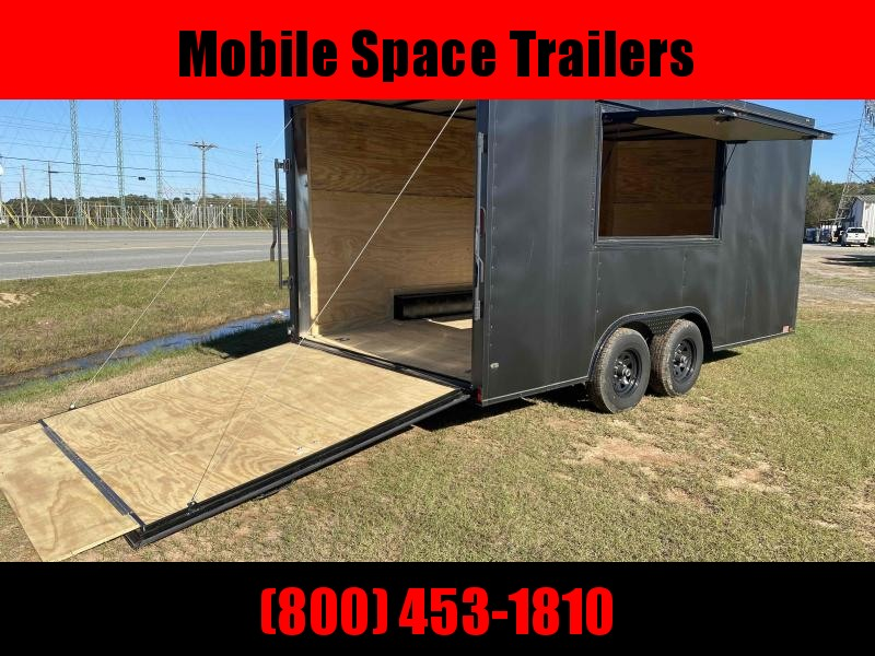 8.5x16 Concession Vending / Concession Trailer
