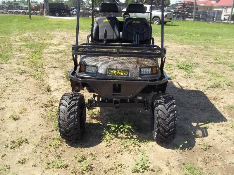 2019 beast GAS Golf Cart