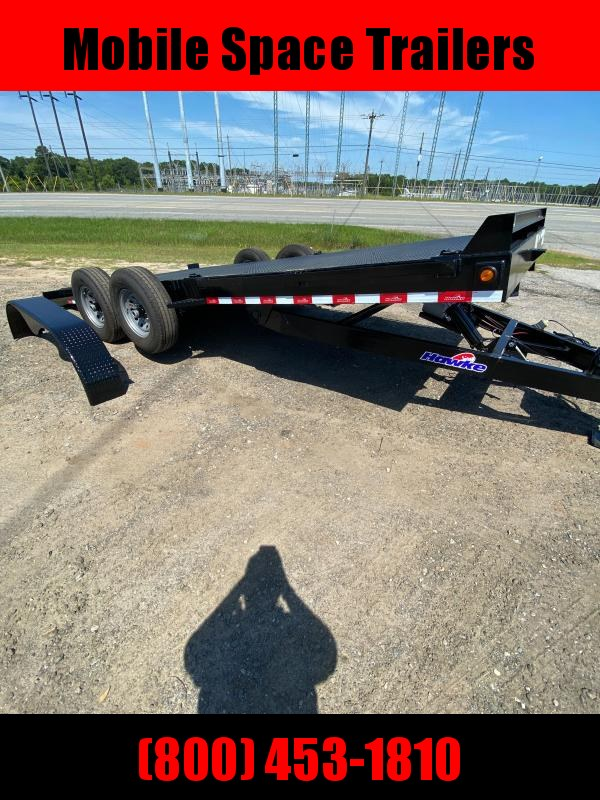 Hawke Trailers equipment 80x20 15k Hydraulic tilt deck Equipment Trailer