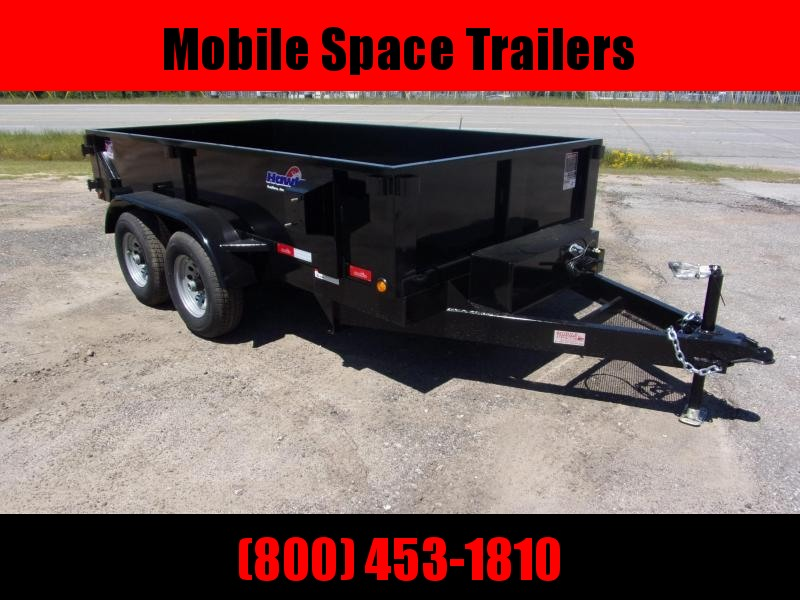"Hawke 6x12 20"" high side 10k Low Pro Dump Trailer"