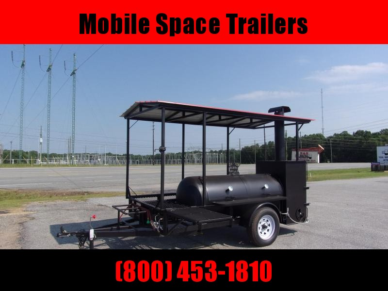 2019 Bubba Grills w Rib Box 250R510 Reverse Flow Smoker Vending / Concession Trailer