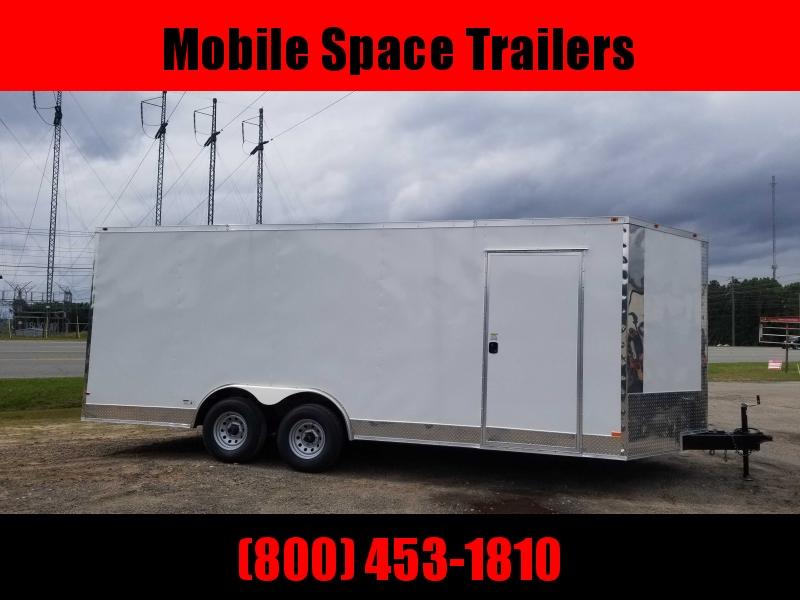 8.5X20 10K Semi-Screwless Carhauler Enclosed Cargo Trailer