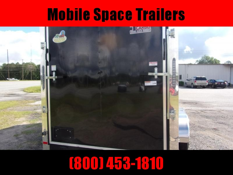 Covered Wagon Trailers 7x16 MCP Bk  scewwless ramp door Enclosed Cargo Trailer