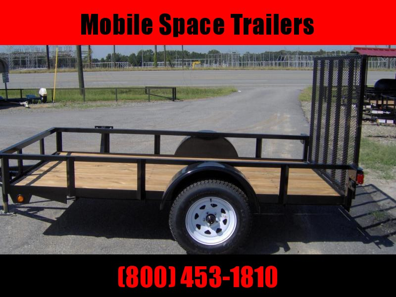 Down 2 Earth Trailers 76x10ut Utility single axles Trailer