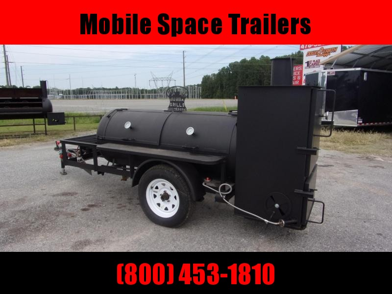 Bubba Grills w Rib Box 250R510 Reverse Flow Smoker Vending / Concession Trailer