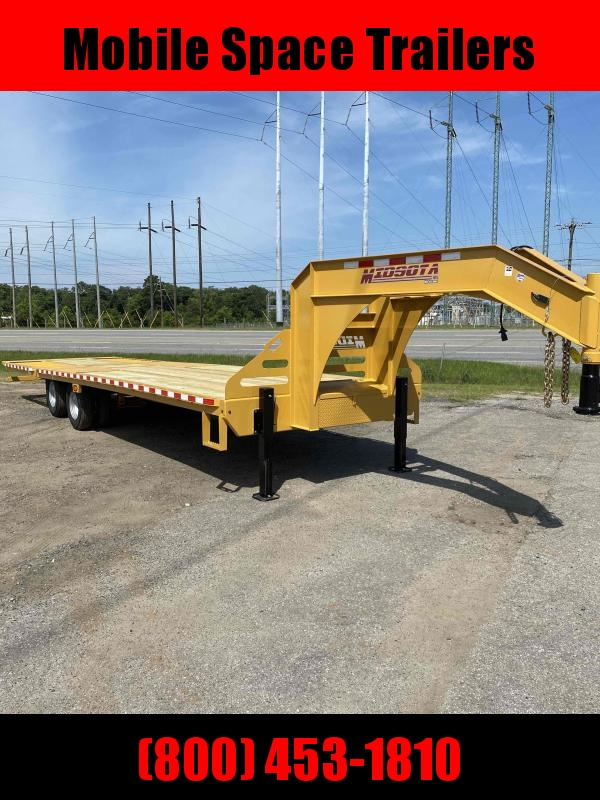 Midsota 102 X 32 Gooseneck Equipment Trailer