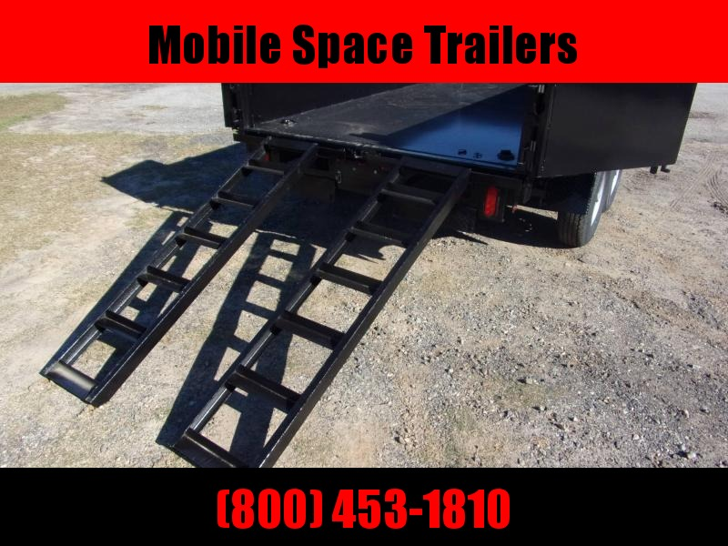 "6x12 24"" high side 10k Low Pro Dump Trailer"