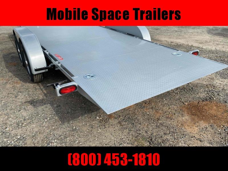 Kwik Load 20' Silver Roll Back Tilt Car / Racing Trailer