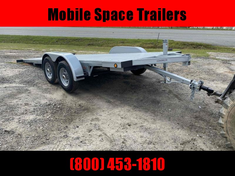 Kwik Load 20' Silver Roll Back Tilt Car / Racing Trailer