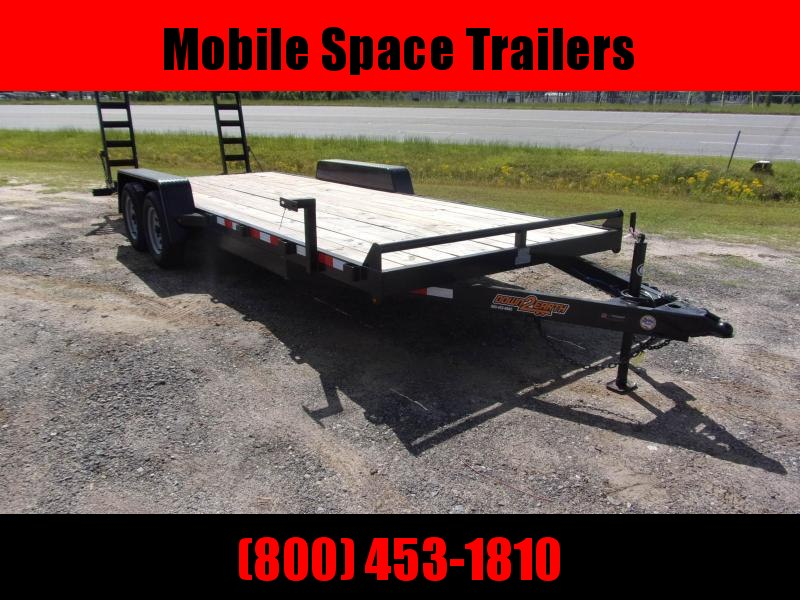 Down 2 Earth Trailers 82x20 10k Equipment Trailer