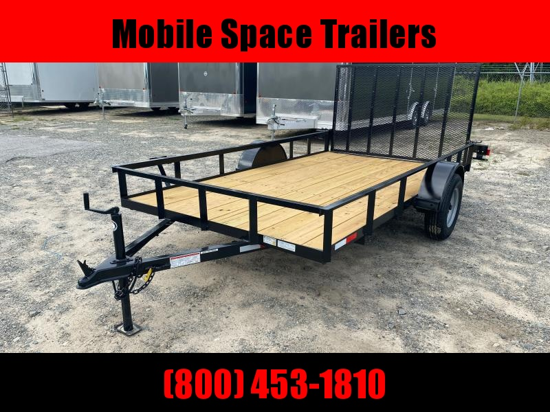 Down 2 Earth Trailers 76x12ut Utility Trailer Flat Deck