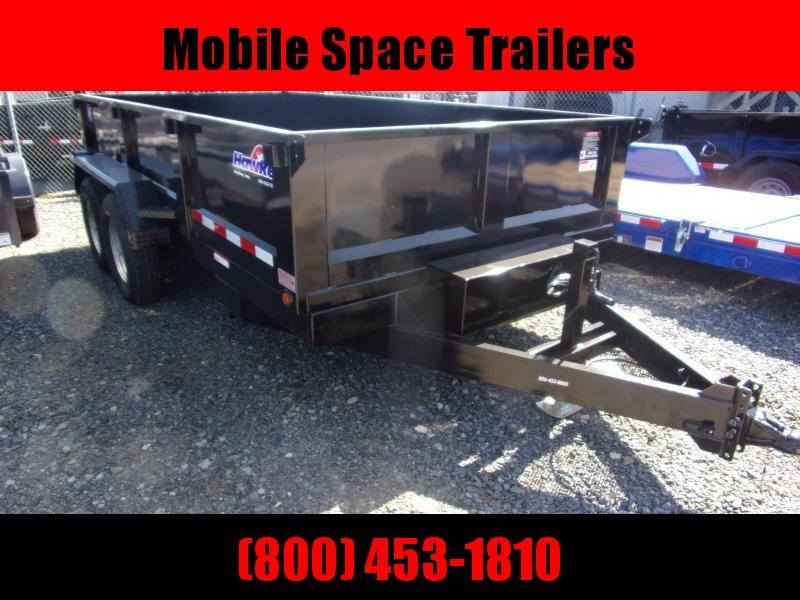 Hawke 7x14 24 high side 14k Low Pro Dump Trailer